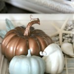 Welcoming Fall Foyer (Decorating Challenge – One Space, 3 Ways)