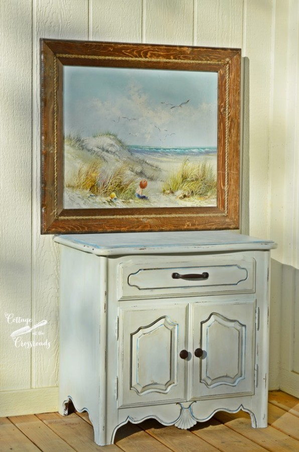 painted-night-stand-Cottage at the Crossroads