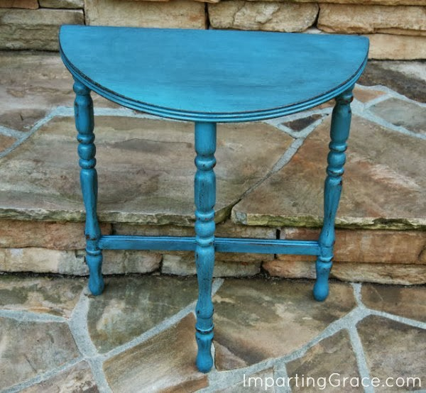 refinished-table - Imparting Grace