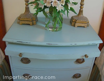 top of painted chest - Imparting Grace