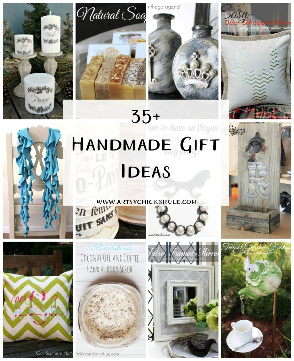 35+ Handmade Gift Ideas - Artsy Chicks Rule