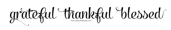 Grateful, Thankful, Blessed Graphic - artsychicksrule