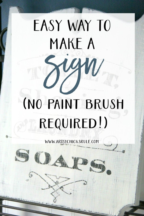 No paint brush??!! Anyone can do this!!