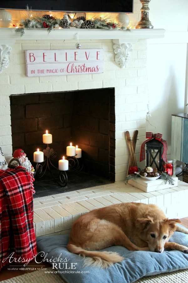 Christmas Home Tour 2015 - My Lexi girl - artsychicksrule.com #christmashometour
