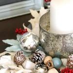 Coastal Christmas Foyer (One Space, Three Ways Decorating Challenge)
