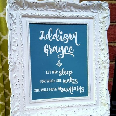 Thrifty Wall Art (for gifts, home decor and more!)