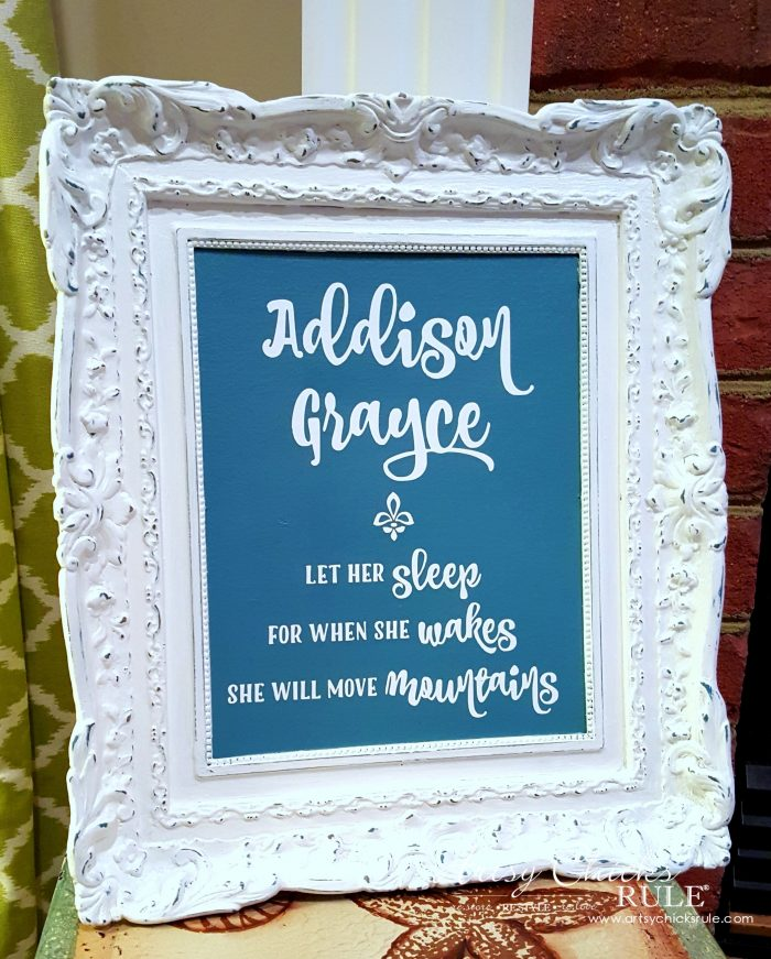Ideal Thrifty Wall Art for gifts home decor and more Artsy Chicks Rule