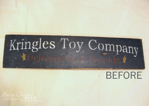 DIY Antiqued Laundry Sign - artsychicksrule.com #laundrysign #diylaundrysign #silhouetteprojects