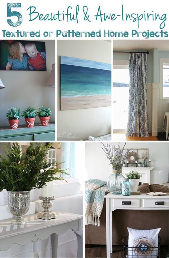 DIY Beach Painting - Get Your DIY On Projects - artsychicksrule