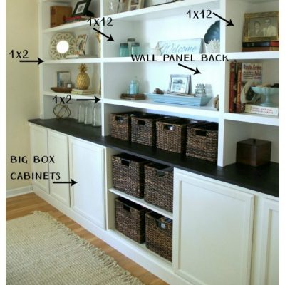 DIY Bookcase Tutorial (DIY built in, all the details!!)