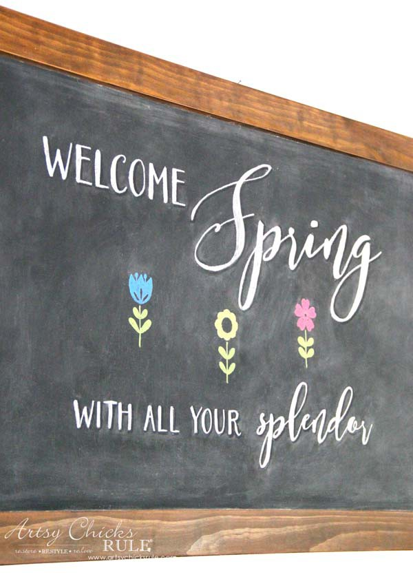 Spring Decorating Ideas That Are Simple To Incorporate!! PLUS sources for all pretty things, spring! Add spring decor to your home decor simply. artsychicksrule.com #springdecorideas #decoratingforspring #springcrafts