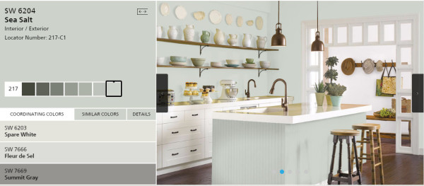 sea salt paint colorFamily Room Updates and more  Artsy Chicks Rule
