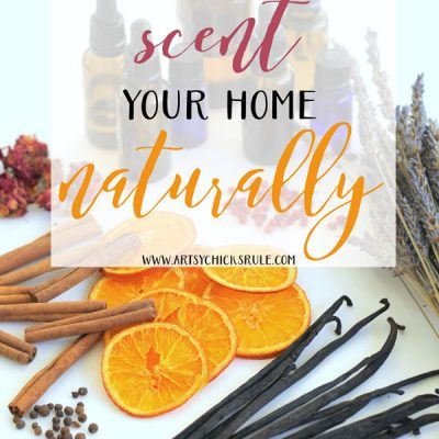 Healthy Ways to Scent Your Home Naturally (plus recipes!)