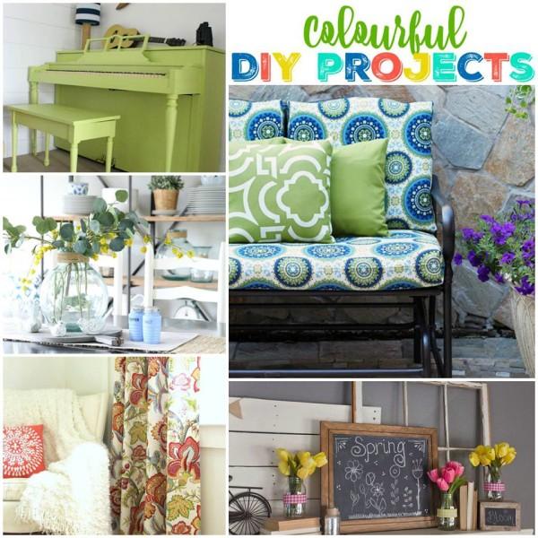 Colorful Theme - Get Your DIY On - artsychicksrule