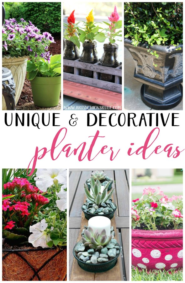 Decorating with Potted Plants - Unique & Decorative Planter Ideas - BLOOM QUOTE - #artsychicksrule #pottedplants #planterideas
