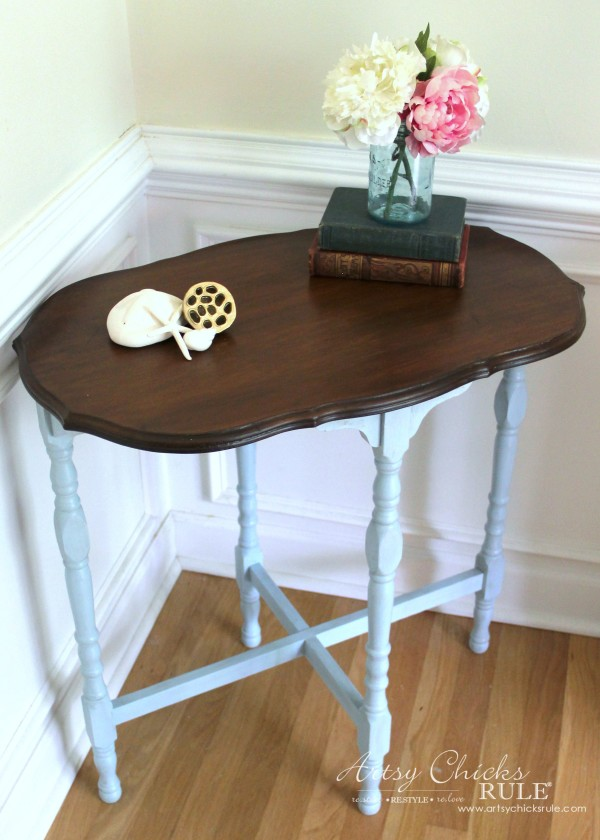 How To Use Gel Stain! Tips & Tricks For Using Gel Stain. All the basics and benefits of using gel stain for your next furniture makeover project!! artsychicksrule.com #gelstain #javagel #gelstaintutorial #gelstainmakeovers #furnituremakeovers