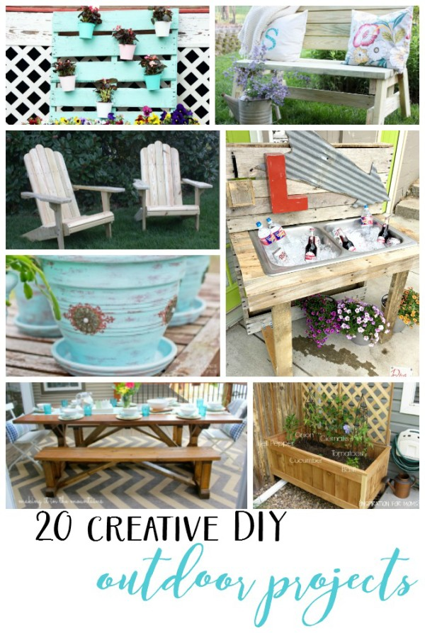20 Creative DIY Outdoor Projects