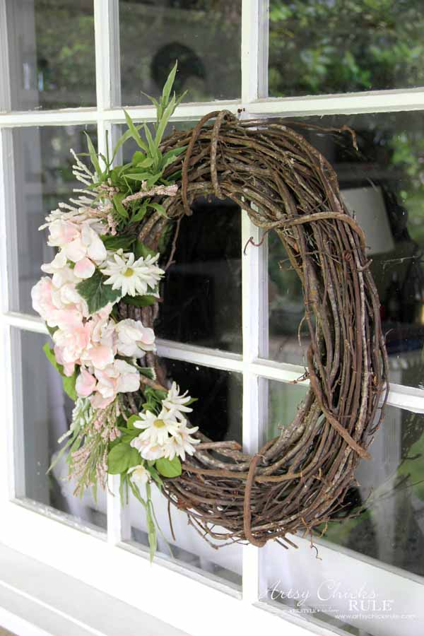 EASY Spring Decor Ideas For Your Home! artsychicksrule.com #springdecorideas #springdecor #springideas #springcrafts