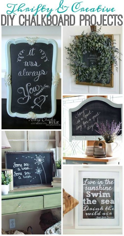 Get Your DIY On Chalkboards