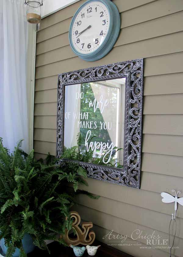 Mirror Word Art - SO EASY WITH SILHOUETTE CAMEO - artsychicksrule.com