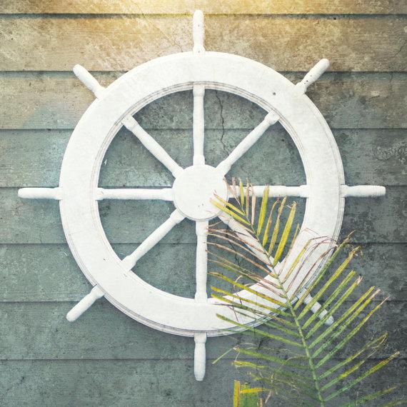 Ship Wheel - BeachBumChix Etsy