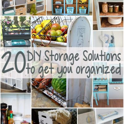20 DIY Storage Solutions (GYDO features)