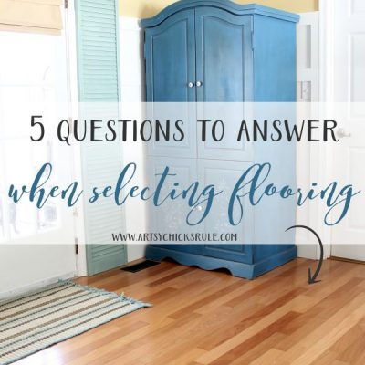 5 Questions to Answer When Selecting New Flooring