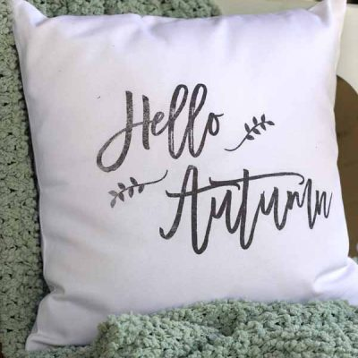 DIY Fall Pillows & Free Printables