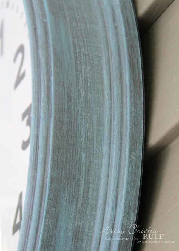 Thrifty Porch Decor - Chalk Paint Makeover - artsychicksrule.com