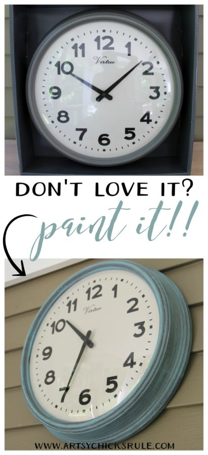 Thrifty Porch Decor - Paint IT - artsychicksrule