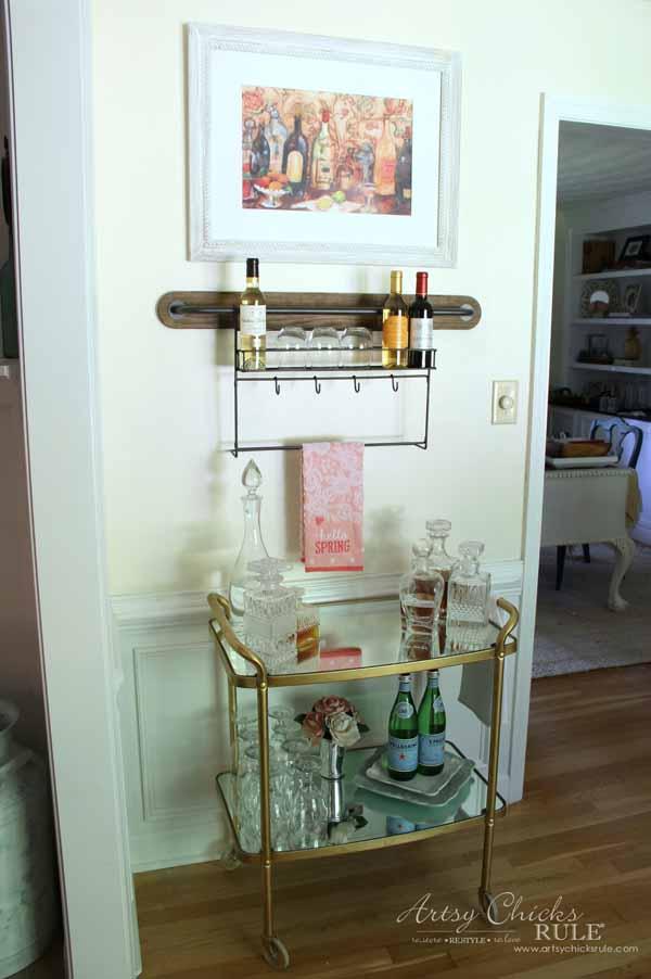 Wine Rack Decor Artsy Chicks Rule