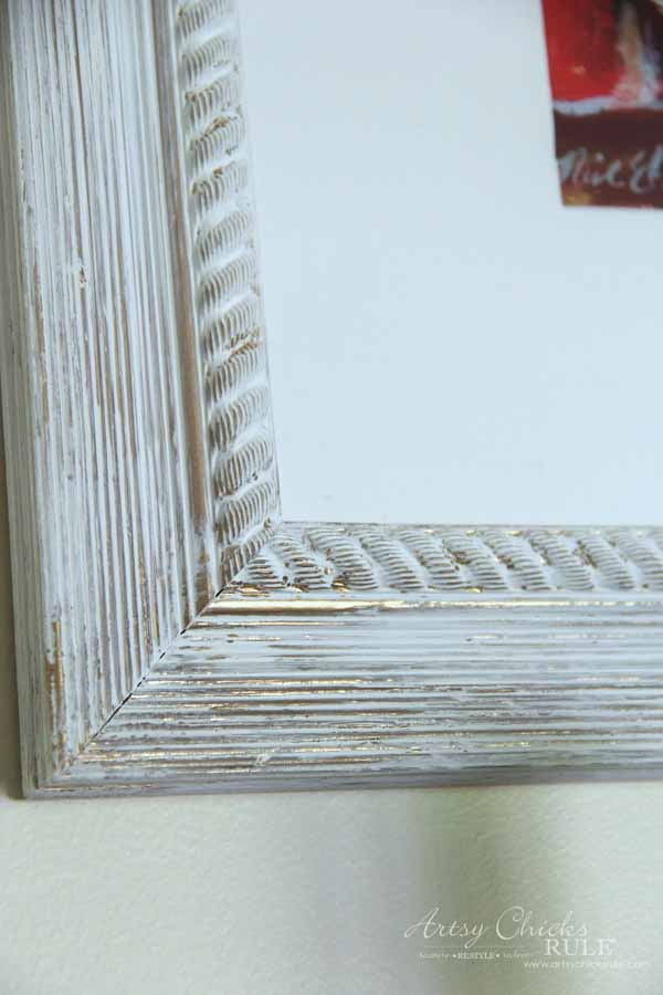 Wine Rack Decor - painted frame - artsychicksrule #winerack