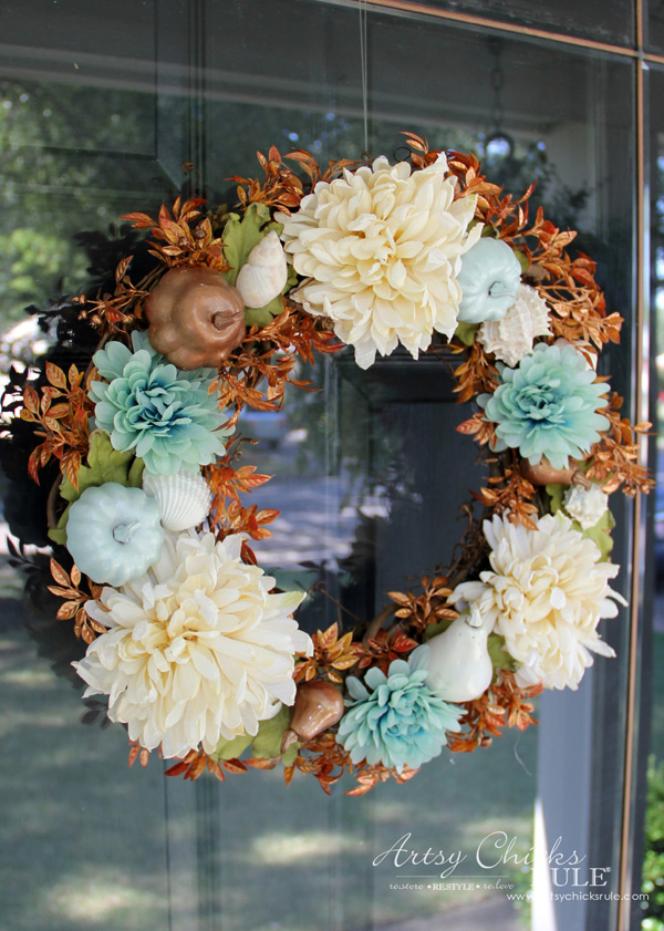 doors nautical front door oyster coastal pin shell year beach wreath round wreaths seashell