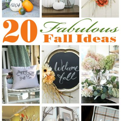 20 Fabulous Fall Ideas