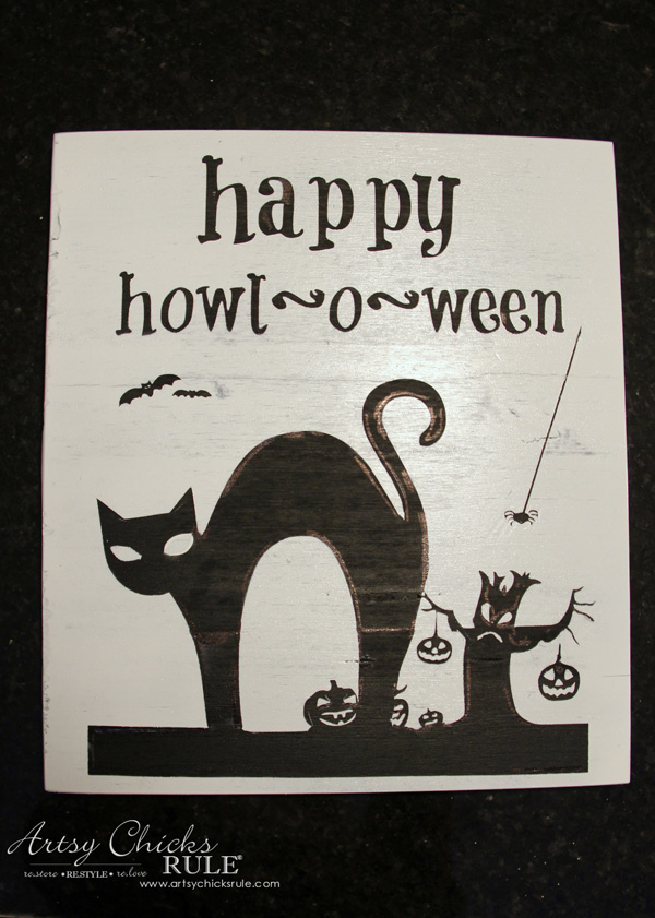 halloween-no-sew-flag-and-sign-step-6-silhouette-artsychicksrule-nosewflag-halloweendecor