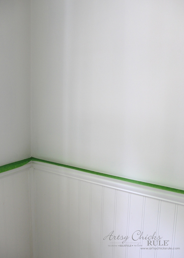 Tips for Painting Your Walls - Frogtape - #artsychicksrule #frogtape #ad