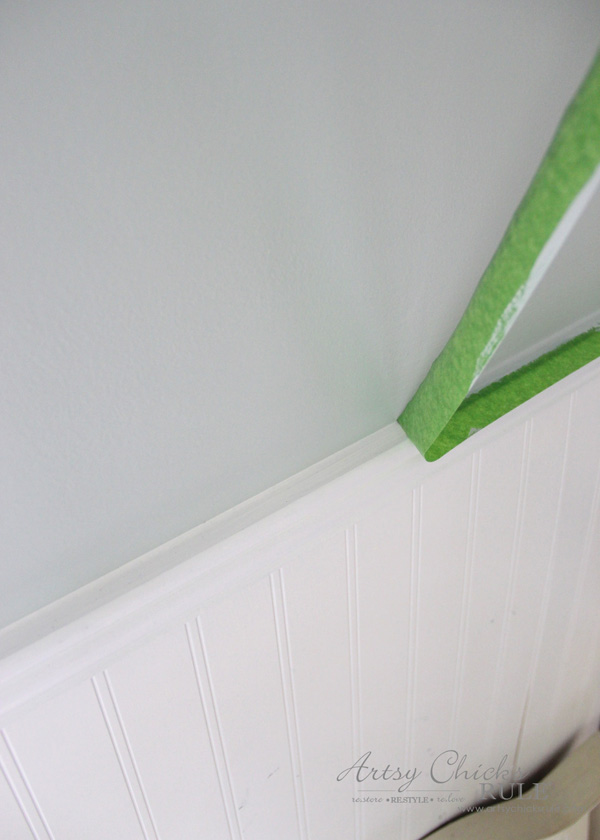 Tips for Painting Your Walls - Frogtape for painting - #artsychicksrule #frogtape #ad