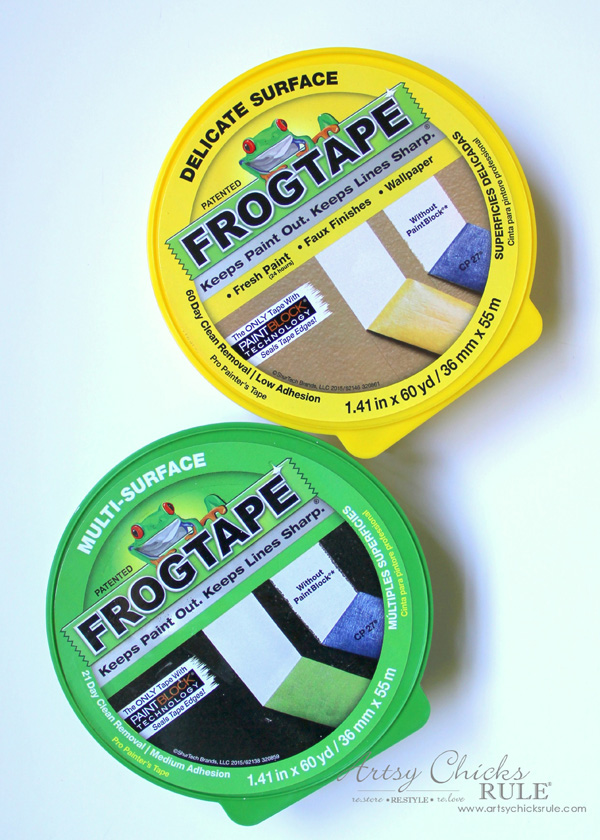 Tips for Painting Your Walls - Love Frogtape - #artsychicksrule #frogtape #ad