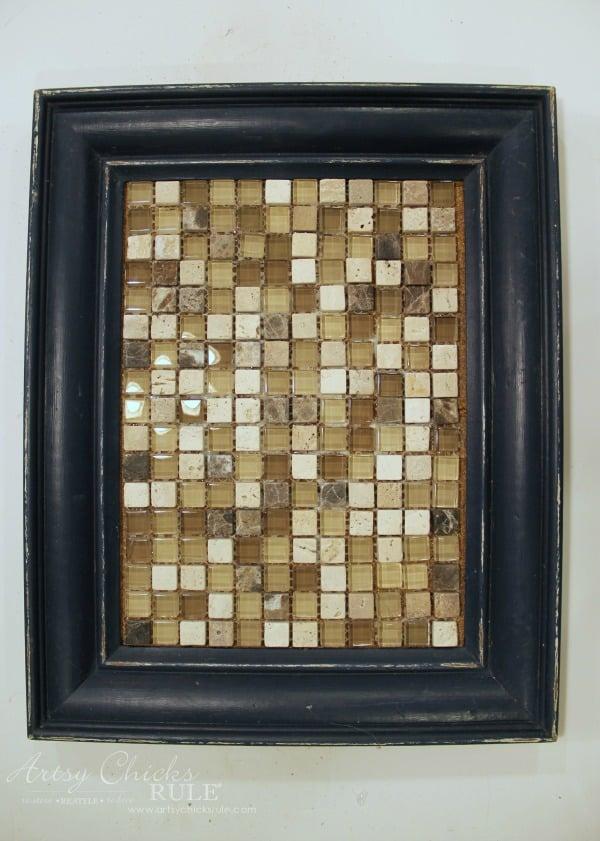 old-frame-turned-diy-tiled-tray-adding-tile-artsychicksrule-tiledtray