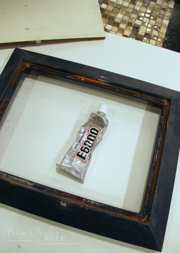 old-frame-turned-diy-tiled-tray-e6000-glue-artsychicksrule-tiledtray