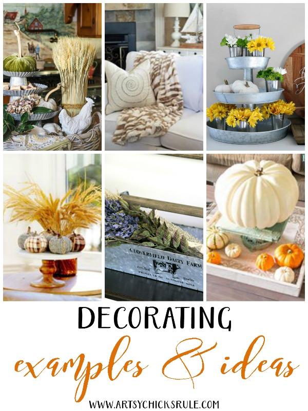 Rustic Farm Caddy - DECORATING IDEAS AND SOURCES artsychicksrule.com #farmhousestyle #farmhousedecor 1