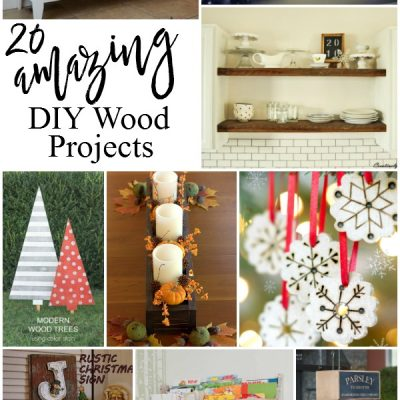 20 Amazing DIY Wood Projects (GYDO Features)