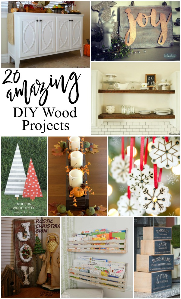 20 Amazing Diy Wood Projects