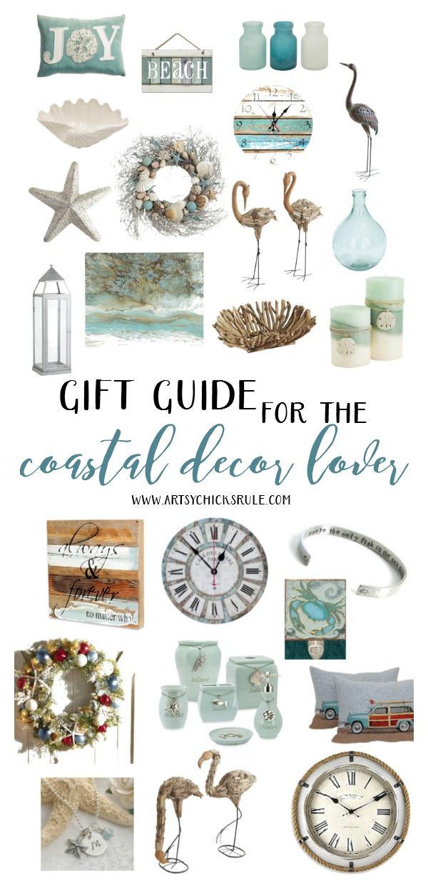 LOVE all of these!! Great gift ideas for the coastal decor lover artsychicksrule.com