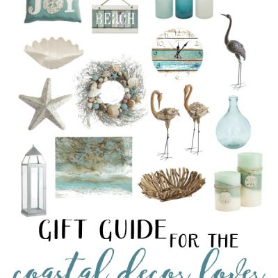 Holiday Gift Guide for the Coastal Decor Lover