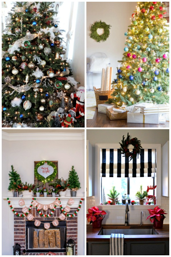 Christmas Home Tours Galore