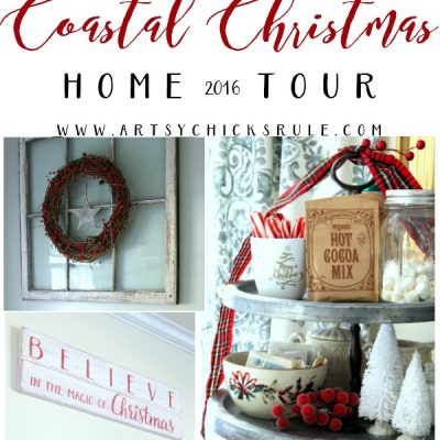 Coastal Christmas Home Tour - Part 2