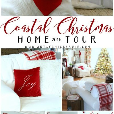 Coastal Christmas Home Tour 2016
