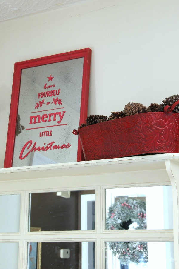 Coastal Christmas Home Tour Part 3 artsychicksrule.com