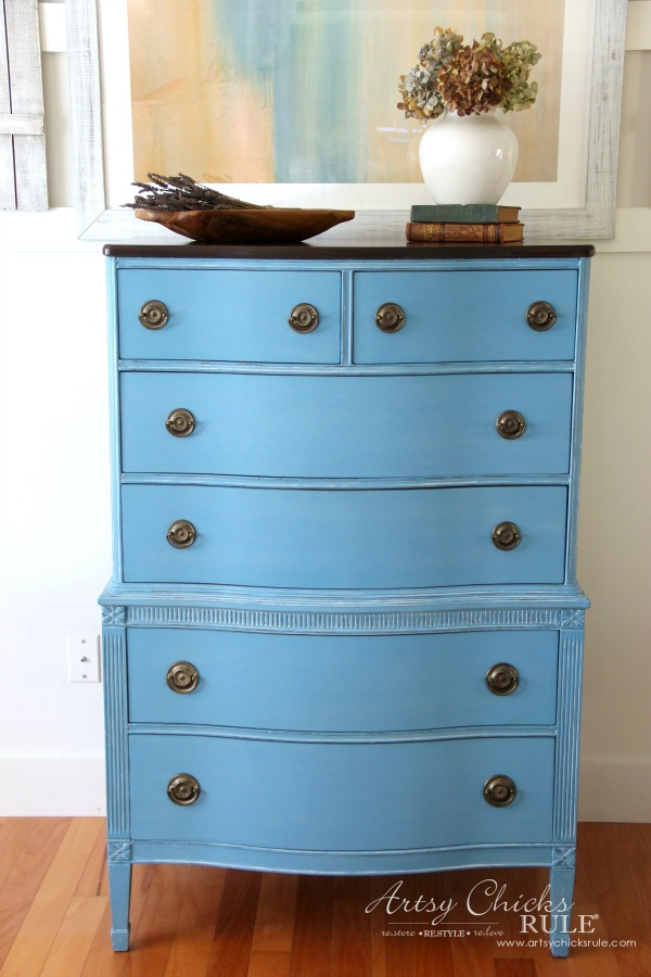 How to Make Missing Molding - Giverny Chest - artsychicksrule.com
